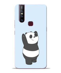 Panda Hands Up Vivo V15 Mobile Cover