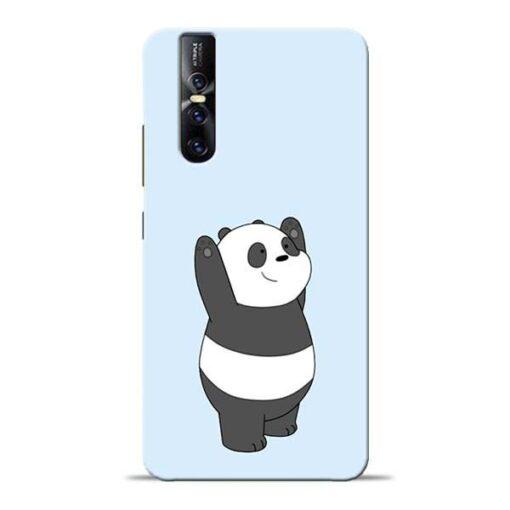 Panda Hands Up Vivo V15 Pro Mobile Cover