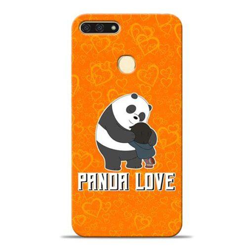 Panda Love Honor 7A Mobile Cover