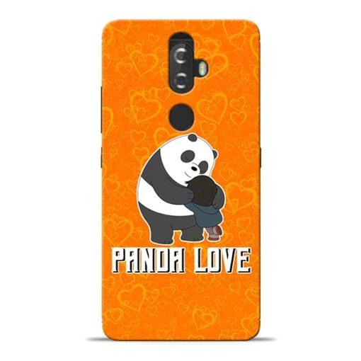 Panda Love Lenovo K8 Plus Mobile Cover