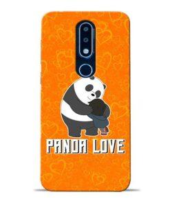 Panda Love Nokia 6.1 Plus Mobile Cover