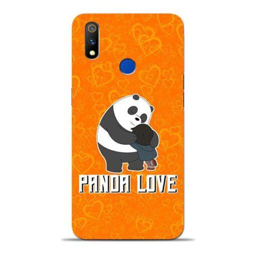 Panda Love Oppo Realme 3 Pro Mobile Cover