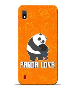 Panda Love Samsung A10 Mobile Cover