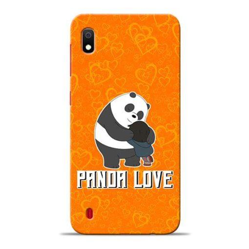 Panda Love Samsung A10 Mobile Cover
