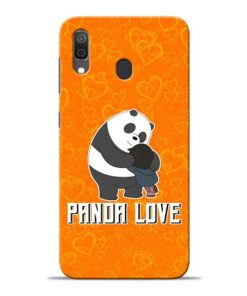 Panda Love Samsung A30 Mobile Cover