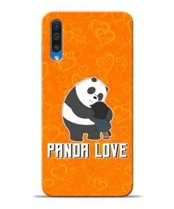 Panda Love Samsung A50 Mobile Cover