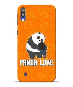 Panda Love Samsung M10 Mobile Cover