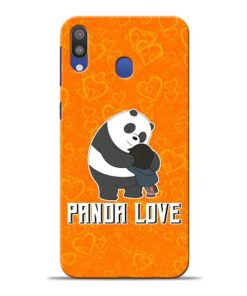 Panda Love Samsung M20 Mobile Cover