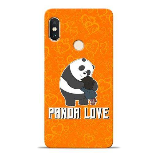 Panda Love Xiaomi Redmi Note 5 Pro Mobile Cover