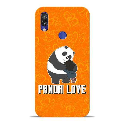 Panda Love Xiaomi Redmi Note 7 Pro Mobile Cover