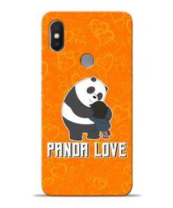 Panda Love Xiaomi Redmi Y2 Mobile Cover
