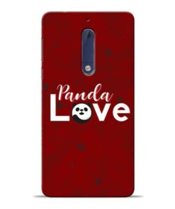 Panda Lover Nokia 5 Mobile Cover