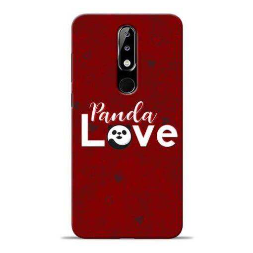 Panda Lover Nokia 5.1 Plus Mobile Cover