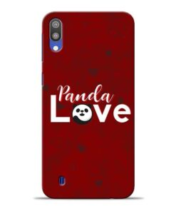 Panda Lover Samsung M10 Mobile Cover