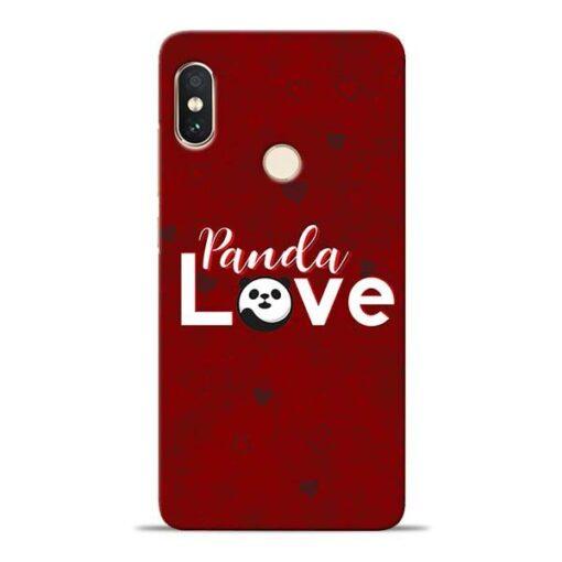 Panda Lover Xiaomi Redmi Note 5 Pro Mobile Cover