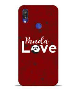 Panda Lover Xiaomi Redmi Note 7 Mobile Cover