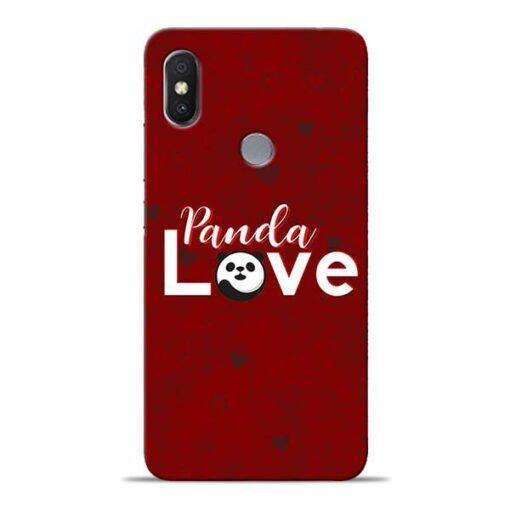 Panda Lover Xiaomi Redmi Y2 Mobile Cover