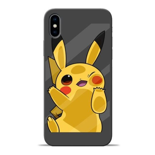 Pikachu Apple iPhone X Mobile Cover