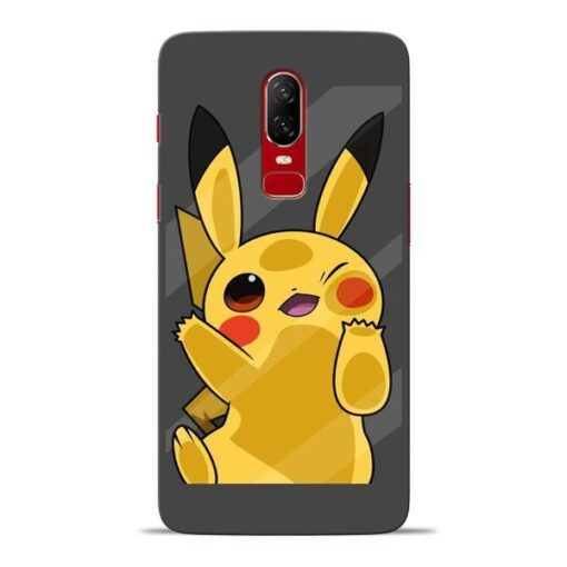 Pikachu Oneplus 6 Mobile Cover