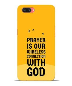 Prayer Is Over Oppo A3s Mobile Cover
