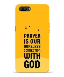 Prayer Is Over Oppo Realme C1 Mobile Cover