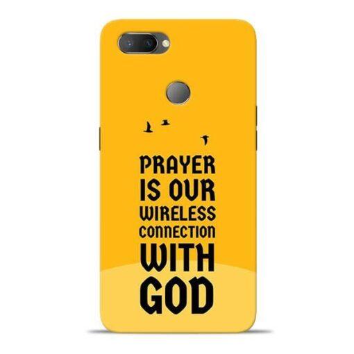Prayer Is Over Oppo Realme U1 Mobile Cover