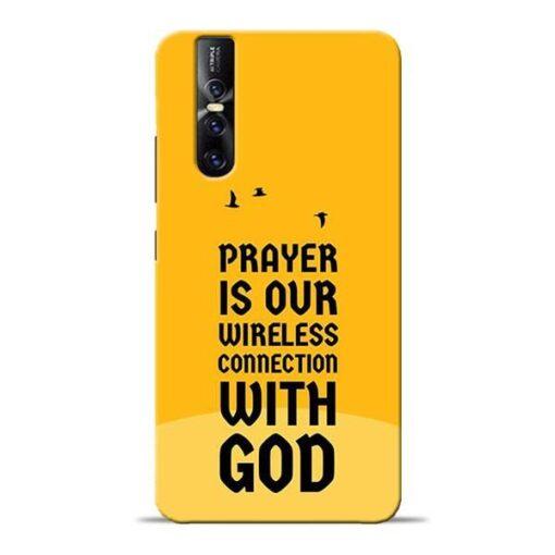 Prayer Is Over Vivo V15 Pro Mobile Cover