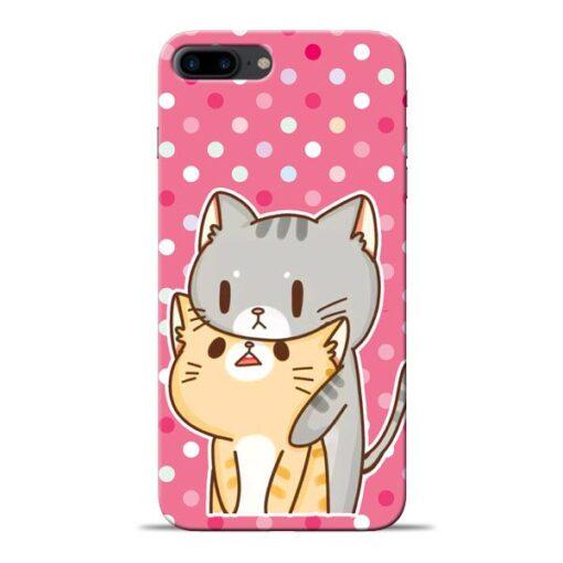 Pretty Cat Apple iPhone 7 Plus Mobile Cover