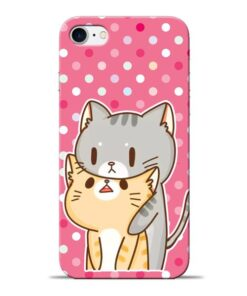 Pretty Cat Apple iPhone 8 Mobile Cover
