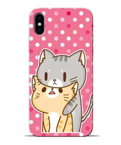 Pretty Cat Apple iPhone X Mobile Cover