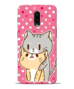 Pretty Cat Oneplus 6T Mobile Cover