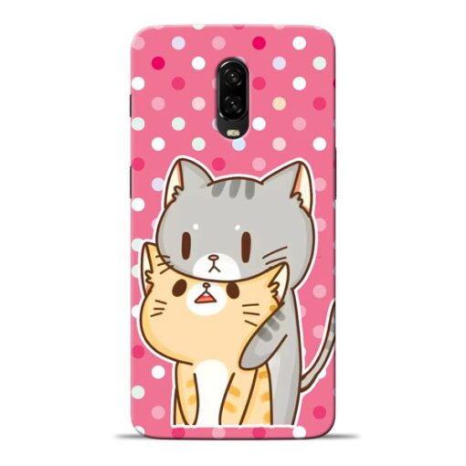 Pretty Cat Oneplus 6T Mobile Cover