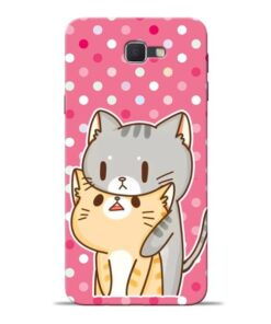 Pretty Cat Samsung J7 Prime Mobile Cover