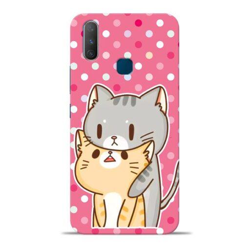 Pretty Cat Vivo Y17 Mobile Cover