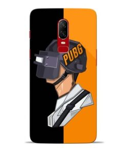 Pubg Cartoon Oneplus 6 Mobile Cover