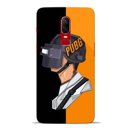 Pubg Cartoon Oneplus 6 Mobile Cover