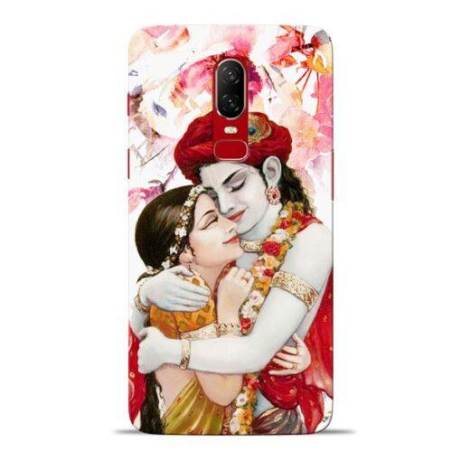 Radha Krishn Oneplus 6 Mobile Cover