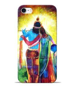 Radha Krishna Apple iPhone 7 Mobile Cover