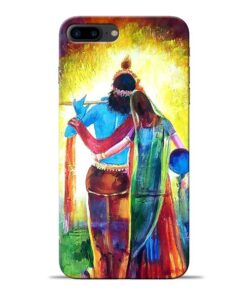 Radha Krishna Apple iPhone 7 Plus Mobile Cover