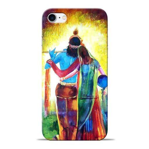 Radha Krishna Apple iPhone 8 Mobile Cover