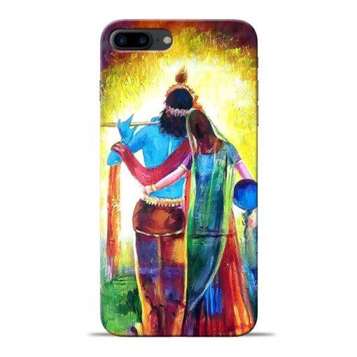 Radha Krishna Apple iPhone 8 Plus Mobile Cover