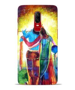 Radha Krishna Oneplus 6 Mobile Cover