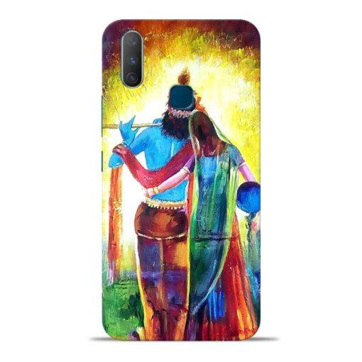 Radha Krishna Vivo Y17 Mobile Cover