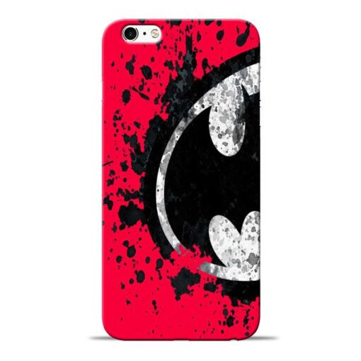 Red Batman Apple iPhone 6s Mobile Cover