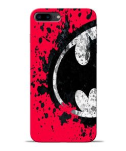 Red Batman Apple iPhone 8 Plus Mobile Cover