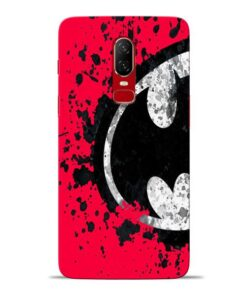 Red Batman Oneplus 6 Mobile Cover