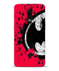 Red Batman Oneplus 6T Mobile Cover