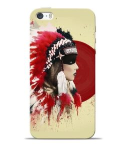 Red Cap Apple iPhone 5s Mobile Cover