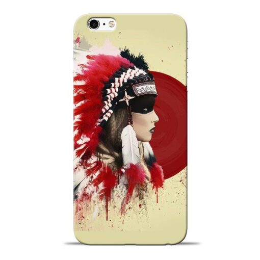 Red Cap Apple iPhone 6s Mobile Cover