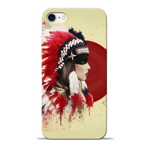 Red Cap Apple iPhone 8 Mobile Cover